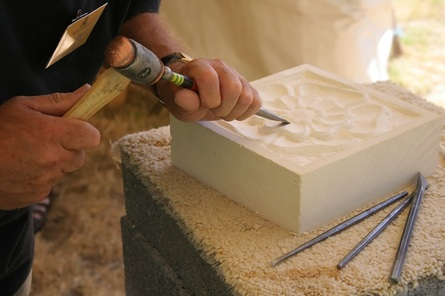 Stone Carving with Marc Kelly