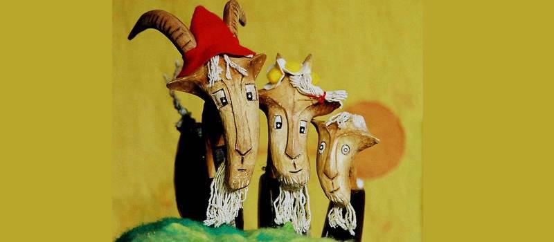 The Three Billy Goats Gruff (3-6yrs)