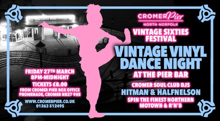 vintage vinyl sixties music event