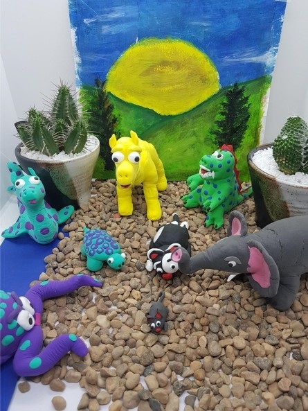 'Click & Collect' Creative Pottery Claymation Virtual Workshop