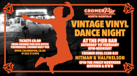 vintage vinyl dance night