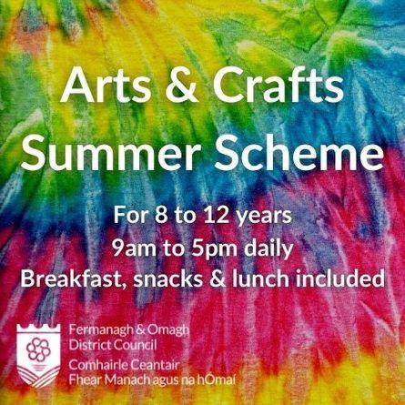 Arts & Crafts Summer Scheme