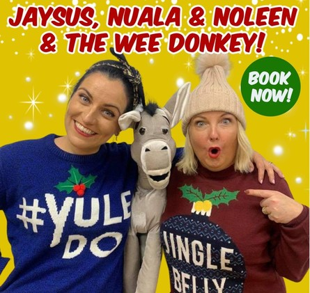 Jaysus, Nuala and Noleen, and the Wee Donkey