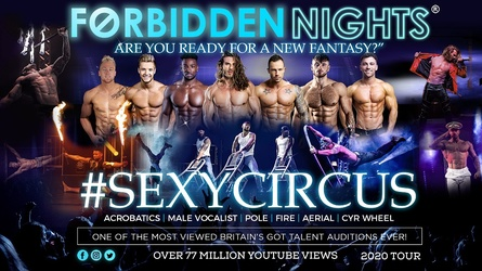 Forbidden Nights - Male Variety Act (Age 18+)