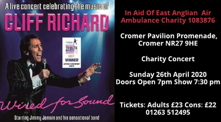 charity concert wired for sound - cliff richard