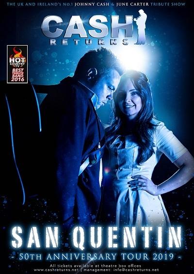 Cash Returns – San Quentin 50th Anniversary Tour