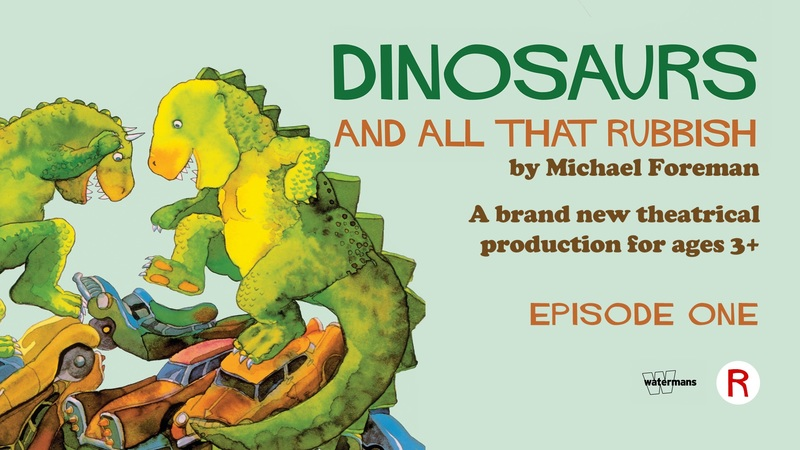 Dinosaurs and all that Rubbish by Roustabout