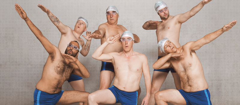 Swimming With Men (12A)