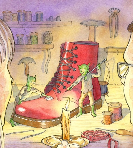 Above Bounds : The Elves and the Shoemaker