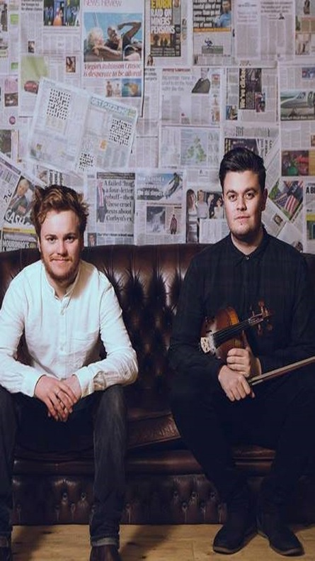 Greg Russell and Ciaran Algar (Studio)
