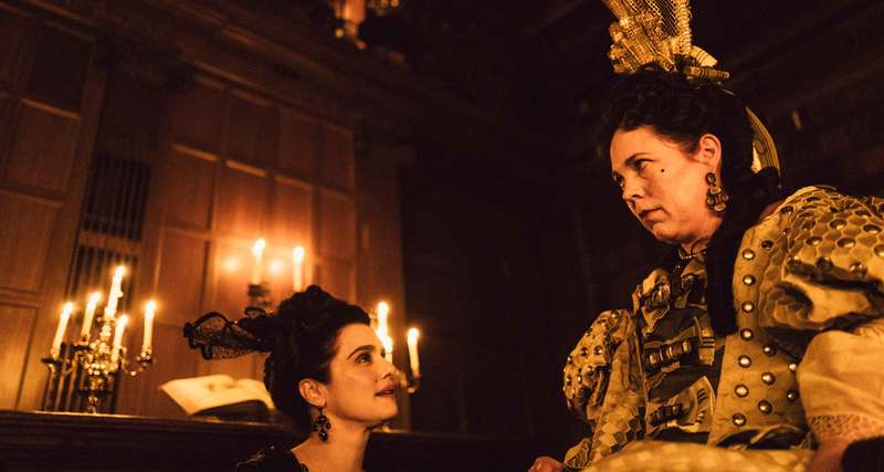 The Favourite (15) – Parent and Baby